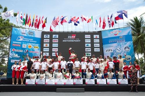 """ผลการแข่งขัน  """"โตโยต้า กาซู เรซซิ่ง มอเตอร์สปอร์ต 2019""""  สนาม 3 ณ บางแสน ชลบุรี  พิเศษสุดกับกิจกรรม Revo Racing Mania  รวมพลรีโว่สายซิ่งครั้งยิ่งใหญ่"""