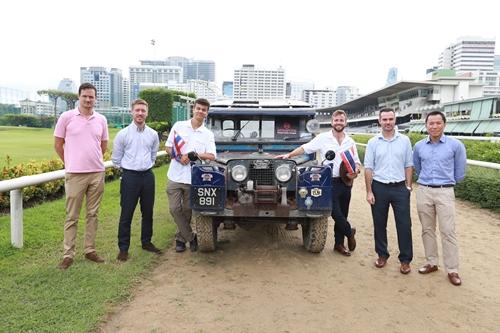 ทีมเดอะ ลาสต์ โอเวอร์แลนด์ ได้เดินทางมาถึงประเทศไทยแล้ว สร้างประวัติศาสตร์ครั้งสำคัญด้วยการเดินทางโดยรถยนต์ระยะทาง 10,000 ไมล์จากสิงคโปร์สู่ลอนดอน