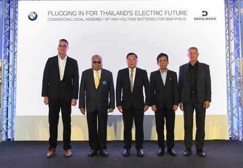 บีเอ็มดับเบิลยู กรุ๊ป ประเทศไทย เดินหน้าประกอบแบตเตอรี่แรงดันสูงในประเทศไทย สำหรับรถยนต์ปลั๊กอินไฮบริด