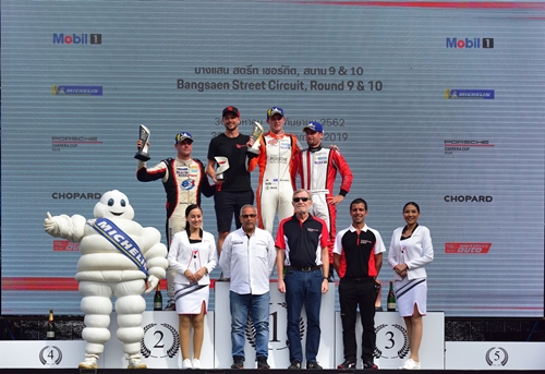 มิชลินร่วมที่สุดของการแข่งขันรถยนต์ทางเรียบของอาเซียน Thailand Super Series 2019