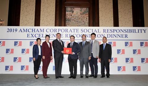 ฟอร์ดรับรางวัล 'องค์กรรับผิดชอบต่อสังคมดีเด่น' ต่อเนื่องเป็นปีที่ 9 จากหอการค้าอเมริกันในประเทศไทย