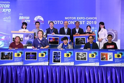 """""""MOTOR EXPO 2019"""" ประกาศรางวัลภาพถ่ายตามแนวคิด """"ICONIC"""" โดยผลงาน """"Motor Expo จุดนัดพบระหว่าง รถ กับ คน"""" ของ เสกสรรค์ วสุวัต คว้ารางวัลชนะเลิศ"""