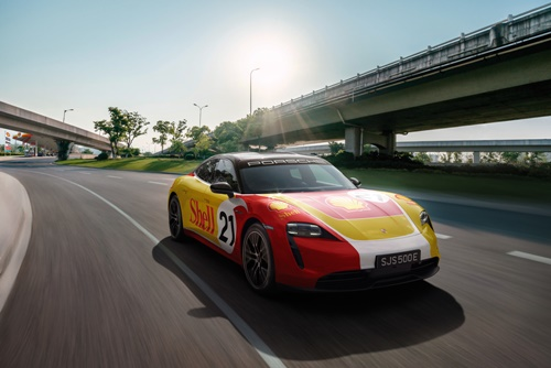 Porsche Asia Pacific จับมือกับ Shell เปิดตัวเครือข่ายสถานีชาร์จพลังงาน High Performance EV ระหว่างประเทศเป็นครั้งแรกในภูมิภาคเอเชียตะวันออกเฉียงใต้