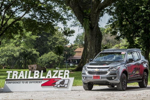 CHEVROLET TRAILBLAZER Z71  SUV พรีเมี่ยม ดุดันดี มีความลุย…