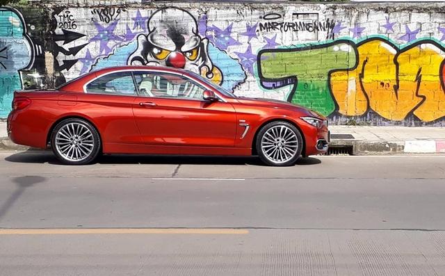 BMW 430i CONVERTIBLE LUXURY  252 แรงม้า เปิดหลังคาท้าลมหนาว..ขอแค่ชั่วโมงเดียวก็คุ้ม!!