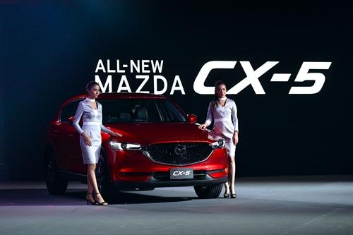 มาสด้าเปิดตัว ALL-NEW MAZDA CX-5 รถอเนกประสงค์เอสยูวีที่คนไทยรอคอย ราคาเริ่มต้นเพียง 1.29 ล้านบาท