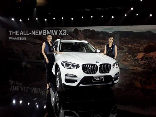 BMW เปิดตัว  X3 xDrive20d xLine ใหม่ เจเนอเรชั่นที่สาม  พร้อมขนทัพรถยนต์แห่งอนาคตใหม่ล่าสุด สู่มอเตอร์เอ็กซ์โป 2017