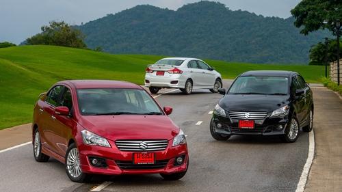 """""""Happy Together with New Suzuki Ciaz"""" ขับแบบสบายๆ ไปหัวหินกับ ซูซูกิ เซียส ใหม่"""