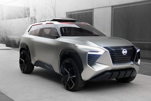 นิสสันเผยโฉมรถยนต์ต้นแบบครอสโมชั่น (Xmotion) ในงาน 2018 North American International Auto Show