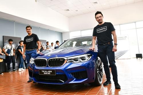 BMW กรุ๊ป ประเทศไทย ปูทางสู่มอเตอร์โชว์ 2018 เผยโฉม BMW M5 ใหม่ รถสปอร์ตซีดานสุดหรู โฉบเฉี่ยวด้วยระบบขับเคลื่อนสี่ล้อ M xDrive
