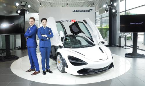 """แมคลาเรน เปิดตัว """"McLaren 720S"""" นำเสนอสุดยอดยานยนต์ยกระดับทุกขีดจำกัดคันแรกในเมืองไทย """"The New McLaren 720S Raises Limits in Thailand"""""""