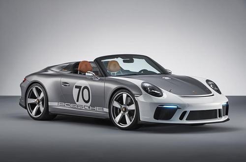 ปอร์เช่ 911 Speedster Concept (Porsche 911 Speedster Concept): สปอตพันธุ์แท้แบบเปิดประทุนที่มาพร้อมพละกำลังกว่า 500 แรงม้า