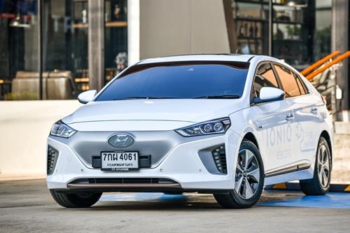 Hyundai Ioniq Electric เรียบง่าย พลังไฟฟ้า รถแห่งอนาคตของฮุนได