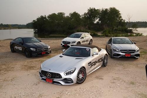 ทีทีซี มอเตอร์ โชว์ศักยภาพ  Mercedes-AMG จัดกิจกรรม Benz TTC AMG Exclusive Caravan 2019