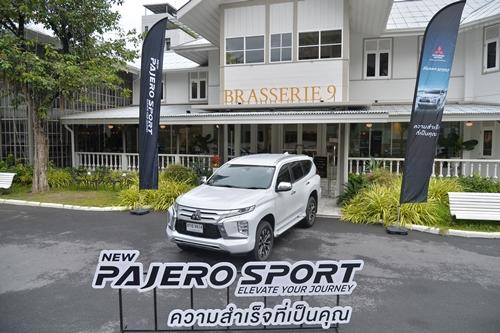 New Mitsubishi Pajero Sport  แรง ขับสนุก ทุกอย่างเหมือนเดิม เพิ่มเติมฟีเจอร์ใหม่
