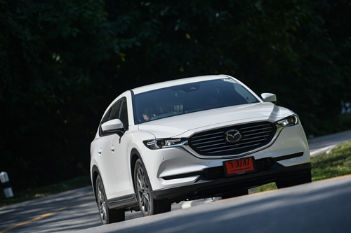 All-New Mazda CX-8 อเนกประสงค์พี่ใหญ่ ขับดี มีความภูมิฐาน