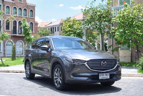 All New Mazda CX-8 2.5 SP   ตัวท็อปรุ่นเบนซิน มีดีที่นุ่ม นั่งสบายและช่วงล่างหนึบ